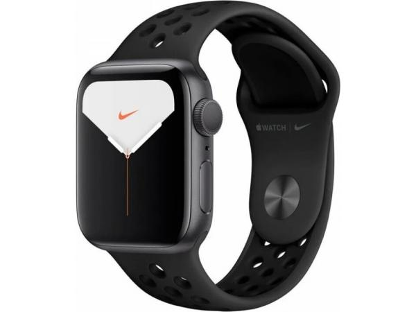 Умные часы Apple Watch SE GPS 40мм Aluminum Case with Nike Sport Band Серый космос/антрацитовый/черный