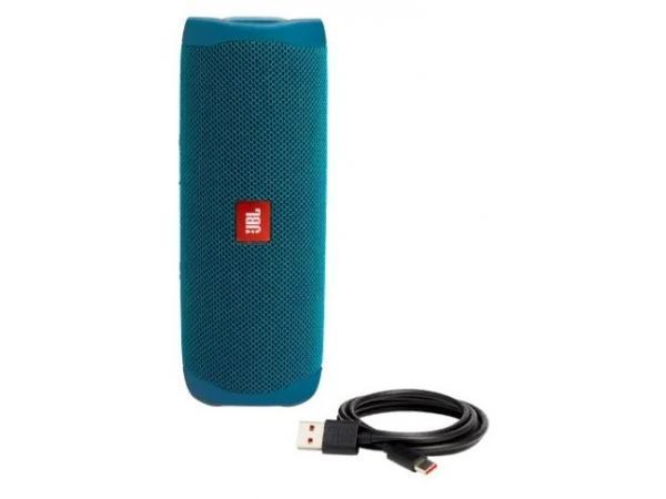 Портативная акустика JBL Flip 5 Eco Edition blue