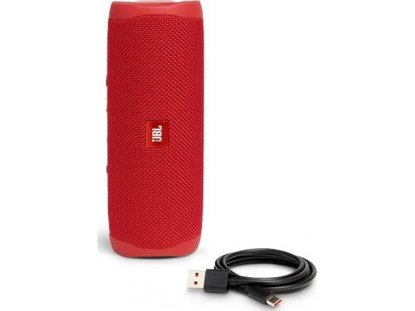 Портативная акустика JBL Flip 5 red